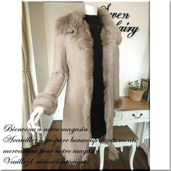 seven-fairy | Rakuten Global Market: Mouton coat Shearling coats