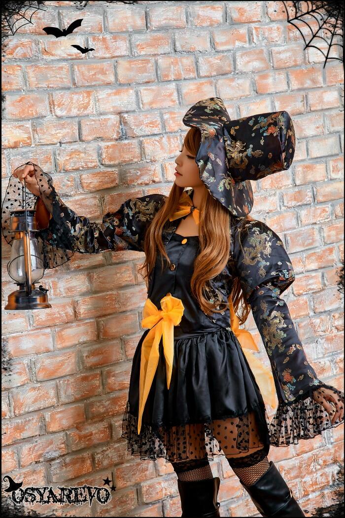 コスプレ ハロウィン 魔女 帽子 ウィッチ コスチューム