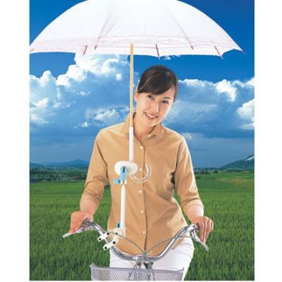 ... 雨の日の自転車に!レバー操作