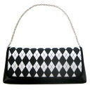 Second bag (bag, yukata) diamond and black x white 10P18Oct13
