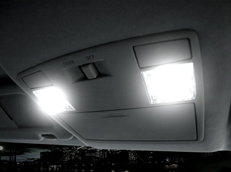 超激明 MAZDA RX-8 専用 LED ルームランプセット 3chip SMD全使用 フロント リア ラゲッジ バニティ カーテシ