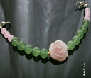 Feminine rose conch rose * jade woman haori strings