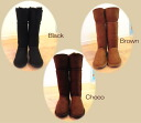 Lady's super long mouton boots! (all three colors) (S M L): SHIBASA (シバサ)