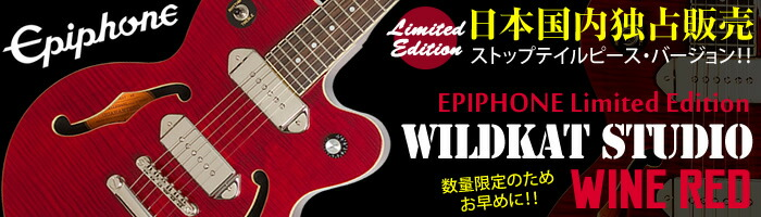 Epiphone WILDKAT Studio