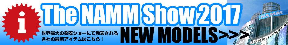 NAMM Show 2017 New Model