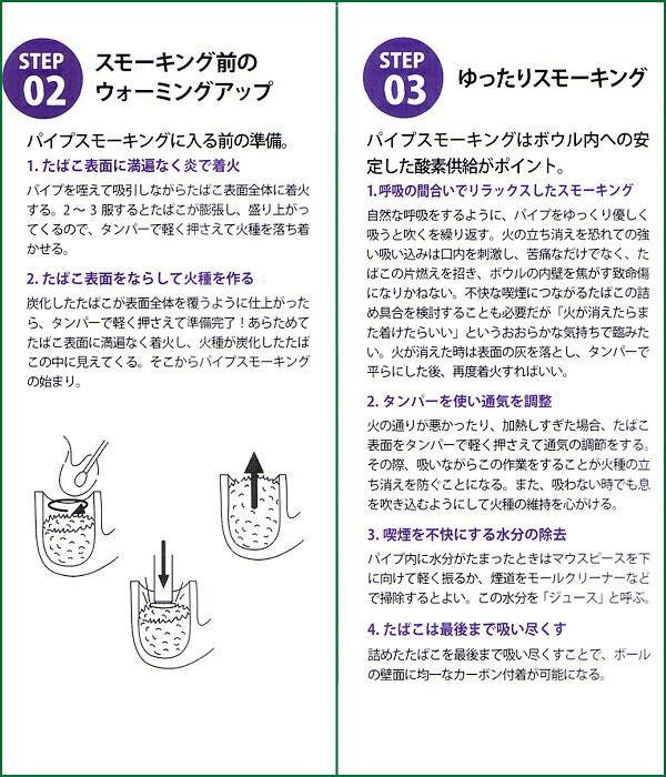 パイプの喫煙方法2