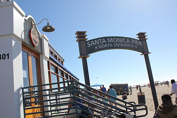 サンタモニカ・ビーチ