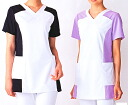 All Lady's scrub 016-22-23-24-25-28 five colors (nurse doctor nurse care medical white robe アプロン AP - RON)