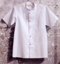 All 418-60 cook coats single short-sleeved one color (kitchen cooking white robe サービスユニフォームアプロン AP - RON)