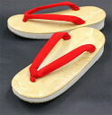 Sandals red nose cord sand bottom LL 25.5cm *9.0cm footwear