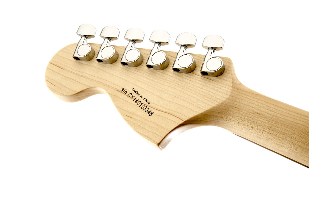 Affinity Series Stratocaster HSS ヘッド裏