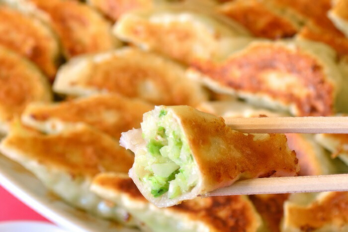 清水蘭蘭の餃子