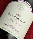 Domaine Patrick Moline Bourgogne Pinot Noir [2009]