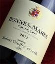◆ Robert Groffier grade Bonne Mar [2012]
