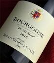 ◆ Robert Groffier Bourgogne Pinot Noir [2012]