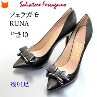 Salvatore Ferragamo 真皮 女裝 Runa  帶子 10cm 細跟 高跟鞋 正規品