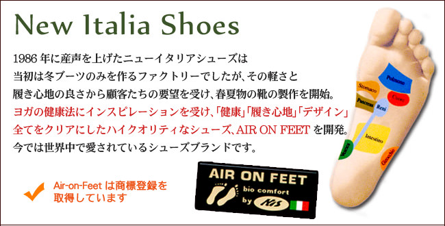 NEW ITALIA SHOESについて