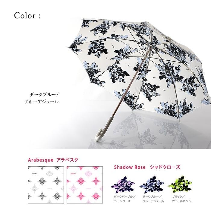 プレミアムホワイト長傘(8本骨)Bタイプ/お洒落な日傘ならコレ!白でもuvカット99.8%以上、雨傘にもなる晴雨兼用/軽量/遮熱効果-10℃でひんやりクールダウン/紫外線/完全遮光や1級遮光と違い瞳に負担をかけない日傘/日本製/母の日/プレゼントにも