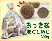 新鮮な美味しさ!大きなしめじ☆おっきなほぐしめじ300g