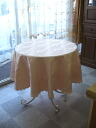 Hot selling! Restocked! round tablecloth pink