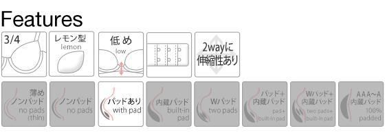 【トリンプ共同企画】 Wレースブラショーツセット