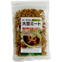 A soybean meat (chopped type) of オーサワ (90 g)