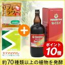 Diets set! ( Daiwa enzyme seiei (1200 ml) + セイチョウゲン (25 g x 8 bags), + リブレフラワーブラウン (500 g) )