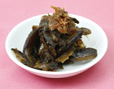 スライス椎茸のおかか煮