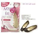In the foot before slipping prevention! Foot-friendly memory foam ♪ コロンブスマイフィットハーフインソール (Beige) «shoe insoles»