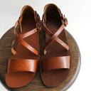 Nuovo in Nicar (Nuovo Nicole) /emozon (Emozioni) cross strap Sandals No.W0162
