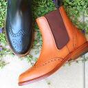 No.807 Palanco ( palanco ) ウイングチップサイドゴア boots