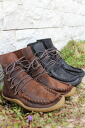 SECCHIARI MICHELE (セッキアーリミケーレ) moccasins race up boots MOUNTAIN (Punto Pigro/ プントピグロ) 10P13Dec13_m