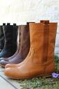chausser (ショセ) /MUKAVA (ムカヴァ) middle peko boots MU-931
