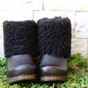 dansko ( dansko ) okao Miyoko vol.3 Shearling boots /Miyoko Okao's Vol.3 Mouton Boots Sabot and clog