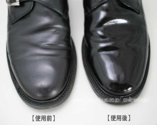 10秒で靴磨き!簡単靴磨きスポンジ【COLUMBUS】コロンブスダブルシャイン