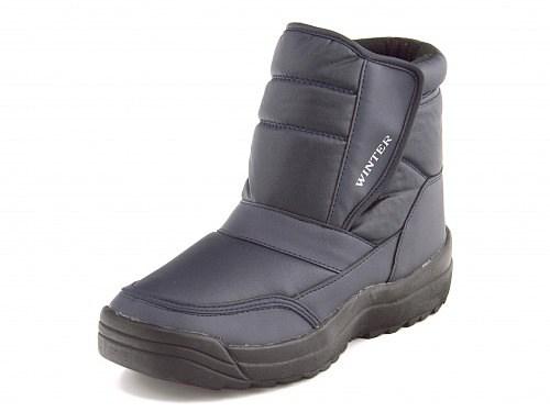 ウィンターブーツスノーブーツ長靴メンズカジュアルデイリーアウトドア防滑ウィンターWINTER5690ネイビー