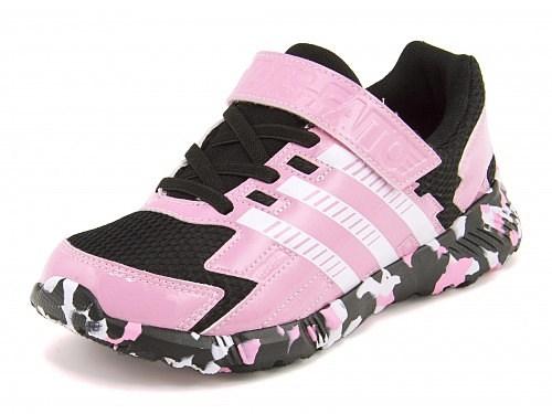 アディダス女の子キッズ子供靴運動靴通学靴スニーカー限定モデル軽量通気性クッション性抗菌グリップ性耐久性アディダスファイトEL3KADIDASFAITOEL3KadidasS31992ピンクグロー/ランニングホワイト/コアブラック