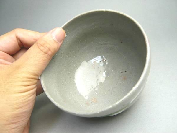 鶴の抹茶碗