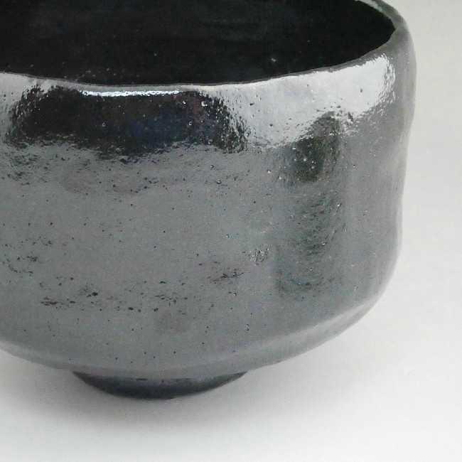 【京焼 清水焼】松楽作 黒楽茶碗(特上)