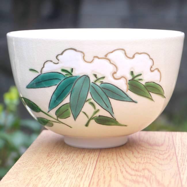 【京焼清水焼】抹茶碗龍 隆雲