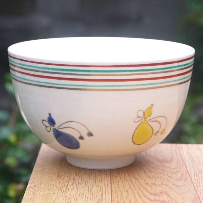 【京焼清水焼】抹茶茶碗龍 隆雲