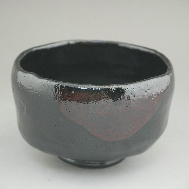 黒楽野立茶碗
