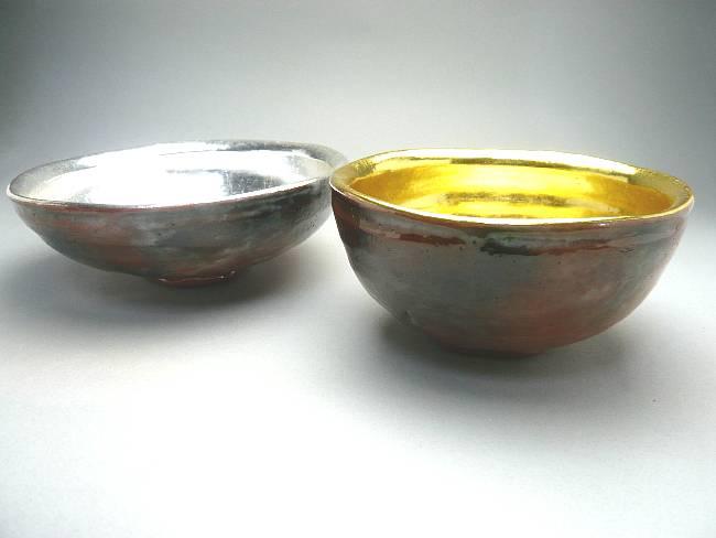 【京焼 清水焼】楽茶碗 夜桜