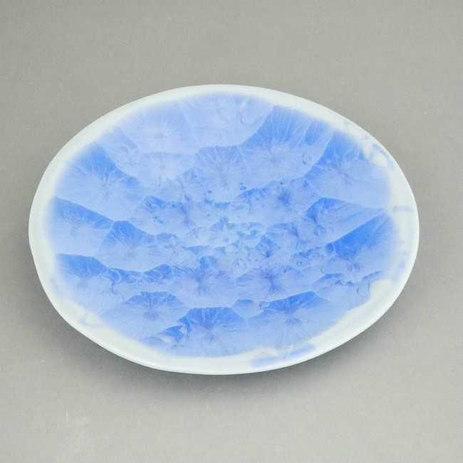 結晶釉銘々皿 前田五雲