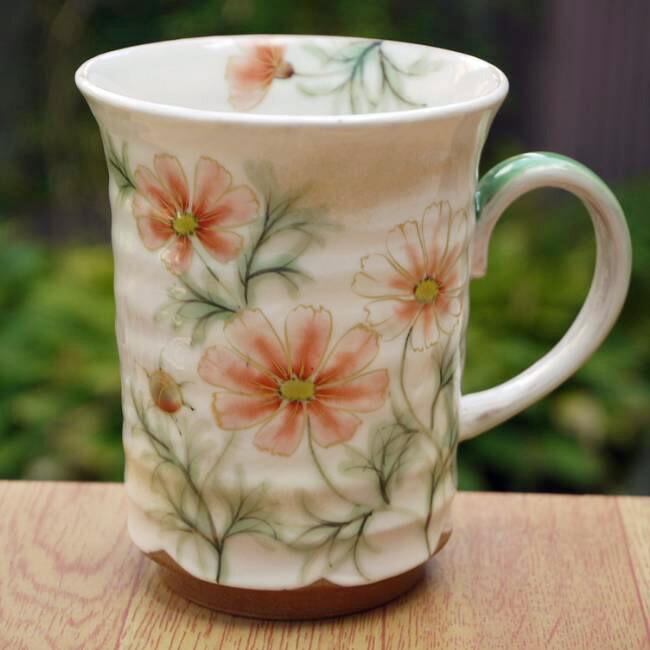 【京焼 清水焼】花いろフリーカップ 加春