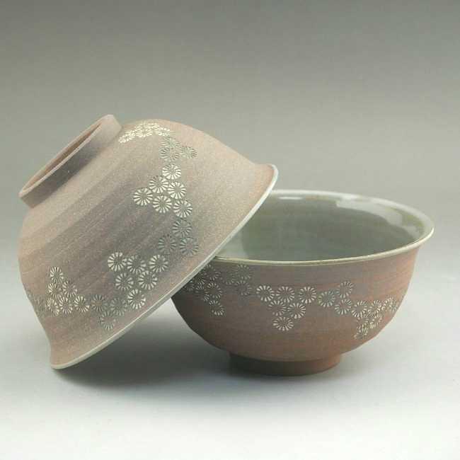 焼締三島ご飯茶碗