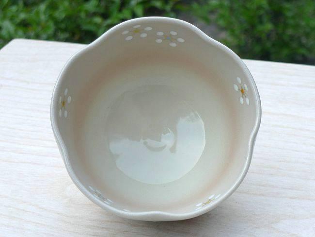 【京焼清水焼】色絵 紅白梅抹茶碗 剛