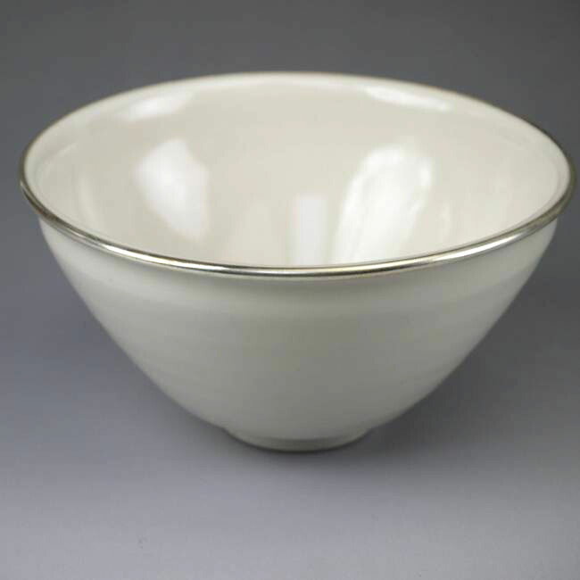 【京焼 清水焼】天目茶碗 貴人 覆輪付
