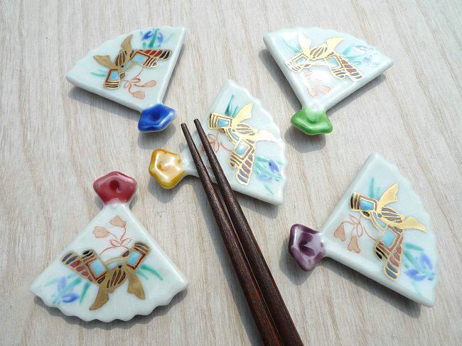 【京焼 清水焼】京のひなまつり箸置きセット