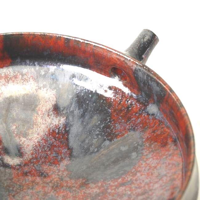ガラス織部湯呑